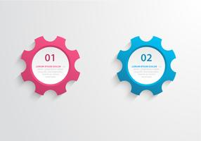Gear Label Vector Set