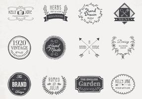 Hand Drawn Logo Vectors