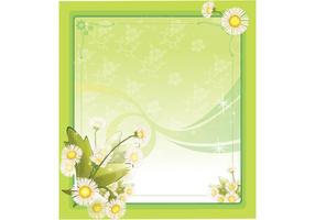Spring Flower Frame