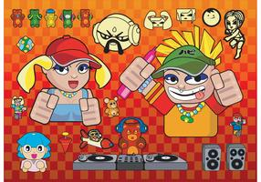 Cartoons Vector Graphics