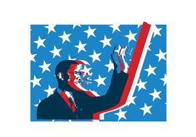 Obama Grunge Vector