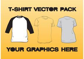 T-shirt Vector Pack