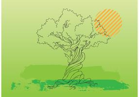 Tree Vector Illustration