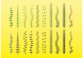 Plants Vector Clip Art