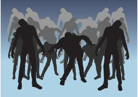 Zombies Silhouettes