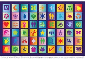Colorful Icon Vectors