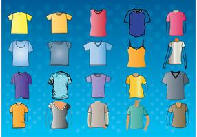 T-Shirt Template Vectors