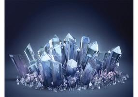 Crystals Wallpaper
