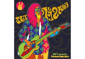 Sixties Music Vector
