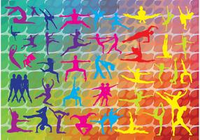 Colorful Dance Graphics