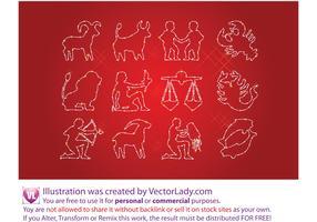 Free Horoscope Signs Vectors