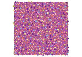 Flower Pattern Vector Background