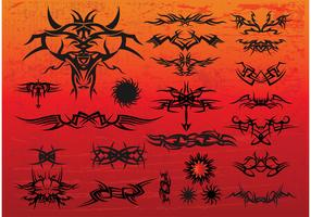 Free Tribal Tattoo Vectors