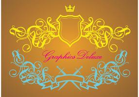 Luxurious Heraldry Vector Graphics