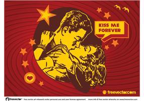 Kiss Vector