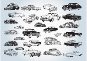 Vintage Cars Vectors