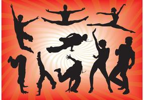 Dancing People Vector Graphics