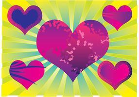 Purple Heart Vectors