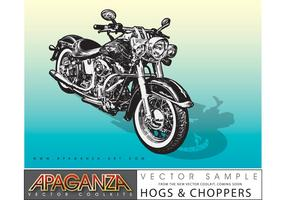 Motorcycle Vector Graphics