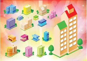 Free Buildings Houses Icons