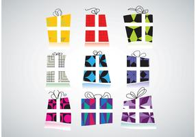 Free Gift Packs Vectors