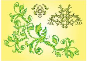Free Nature Vector Ornaments