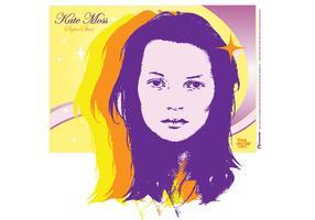 Kate Moss Vector