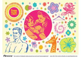 Cool Vintage Vector Graphics