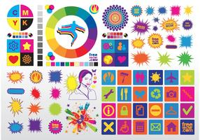 Colorful Vector Clip Art
