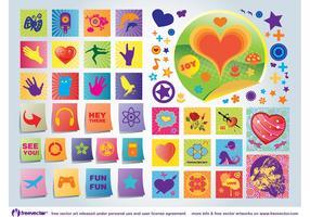 Fun Love Vector Icons