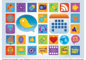 Web Badges Vectors