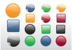 Free Design Stickers Vectors