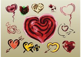 Love Vector Illustrations