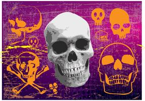 Free Skulls Vector Graphics