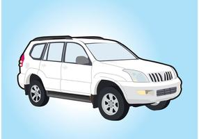 Toyota Land Cruiser Vector