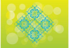 Floral Pattern Tile