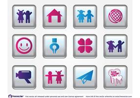Happy Vector Icons