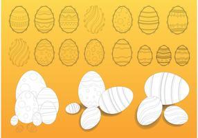 Easter Eggs Illustrations