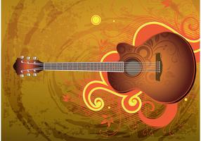 Download Guitar Vector