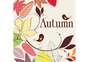Autumn Nature Drawing