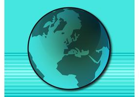 Blue Planet Vector