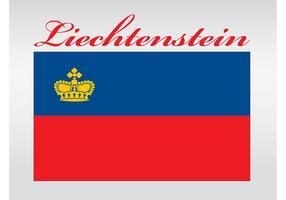Liechtenstein Flag Vector