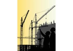 Construction Crane Graphics