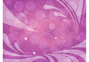 Abstract Purple Geometric Graphics