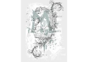 Crown Horse Shirt Design