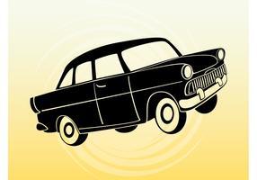 Cartoon Passenger Car
