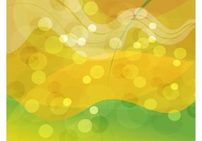 Gold Green Abstract Background
