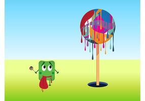 Dripping Lollipop Tree