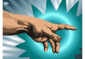 Hand Vector Graphics