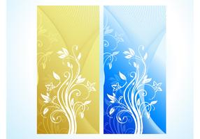 Vertical Flower Banners